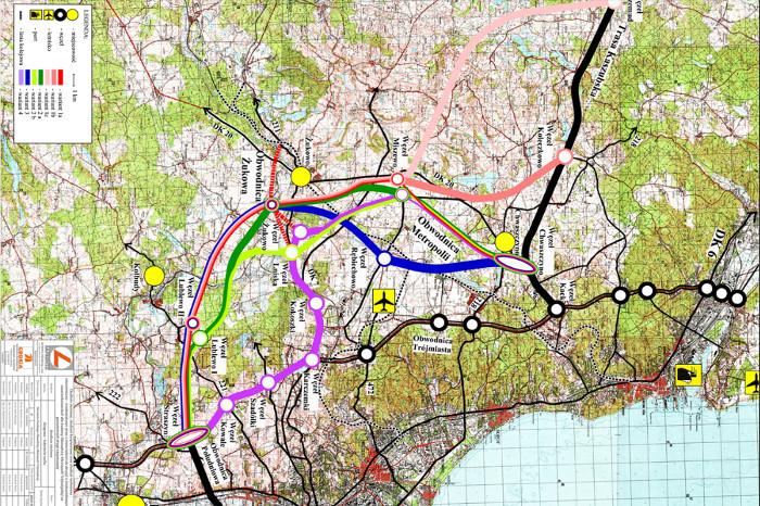 S6: Wybrano wariant Obwodnicy Metropolitalnej Trójmiasta