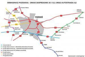 Prawie 108 mln zł za budowę S11 - zachodniej obwodnicy Poznania