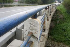 DW 637: zamknięty most na Liwcu w Węgrowie
