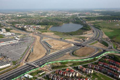 Węzeł Karczemki - największy węzeł drogowy na północy Polski