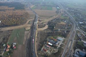 Ostatnie prace na budowie drogi ekspresowej S19
