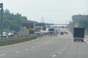 Wymieniają dylatację na autostradzie A4 w Zabrzu–Makoszowach
