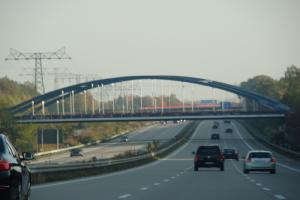 Europejskie oznakowanie na autostradzie A1