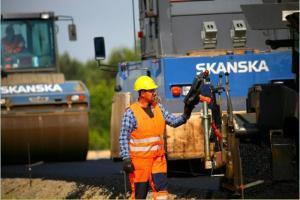 DW855: Zaawansowane prace przy rozbudowie odcinka Stalowa Wola-Olbięcin