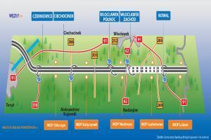 Autostrada A1 z Torunia do Włocławka otwarta
