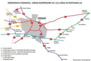 S11: Pogoda sprzyja budowie zachodniej obwodnicy Poznania