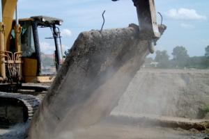 Przygotowania do remontu nawierzchni betonowych na berlince i DW102