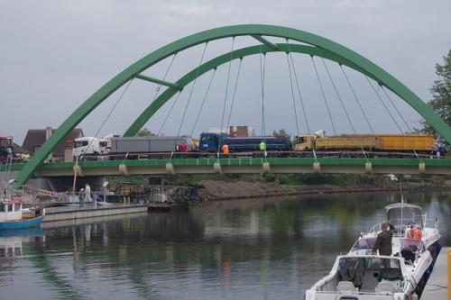 Most w Darłowie i inwestycje na DW163 i 203 na finiszu