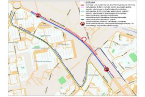 DK11: Estakada Katowicka w Poznaniu wyłączona z ruchu