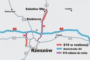290 mln za budowę S19 Sokołów Małopolski - Stobierna
