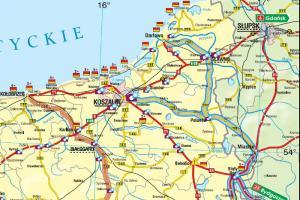 Utrudnienia z dojazdem nad morze przez remont na DK11 w Bobolicach