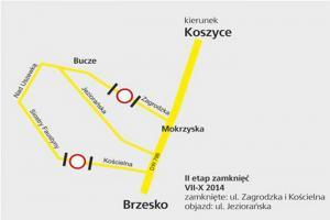 Powstają ronda na DW768 Brzesko-Koszyce