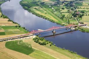 DK90: Ponad milion pojazdów pokonało most przez Wisłę koło Kwidzyna