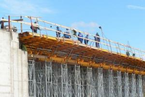 DK74: Finisz prac na moście w Woli Jachowej