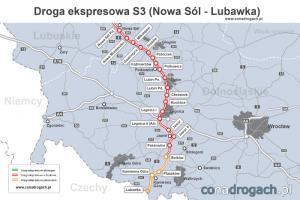 Wkrótce cała S3 na Dolnym Śląsku w budowie