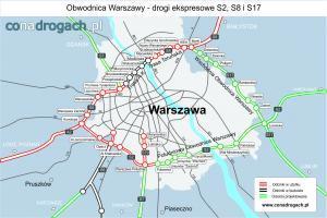 S2: Są pierwsi chętni do budowy Południowej Obwodnicy Warszawy