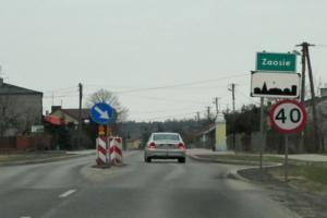 Łódzkie: Inwestycje na DW715 w Zaosiu na finiszu
