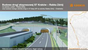 S7: Międzynarodowe firmy chcą budować tunel na Zakopiance