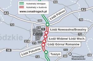 Kiedy będzie gotowa autostrada A1 koło Łodzi