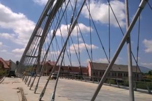 DW945: Budowa mostu i obwodnicy Żywca na finiszu