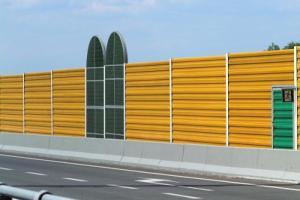 Mniej ekranów akustycznych na autostradzie A4 Rzeszów - Jarosław