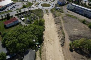 Raport z budowy obwodnic Brodnicy i Inowrocławia w ciagu DK15 i 25