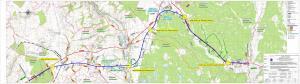 Droga ekspresowa S19 Kraśnik - granica woj. lubelskiegi i podkarpackiego - mapa przebiegu