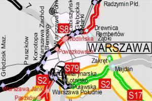 2,5 mld zł za projekt i budowę Południowej Obwodnicy Warszawy
