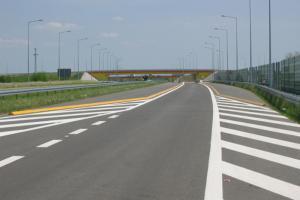 Kończy się I etap remontu autostrady A2 na węźle Poznań Krzesiny