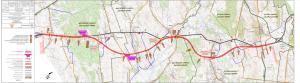 Droga ekspresowa S7 Chęciny - Jędrzejów - mapa przebiegu