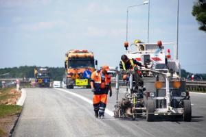 Opolskie: Pierwsze 5 km autostrady A4 po remoncie