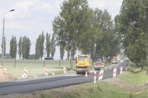 Remont na drodze krajowej nr 25 Złotniki Kujawskie-Jaksice