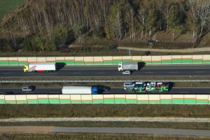 Autostrada A2: Zakaz wyprzedzania dla ciężarówek na odc. Konotopa - Wiskitki
