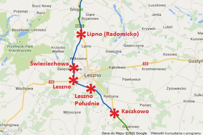 Droga ekspresowa S5 Kaczkowo - Radomicko z obwodnicą Leszna