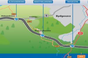 Droga ekspresowa S5 - odcinek Aleksandrowo - Tryszczyn
