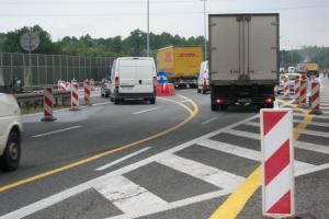 Uwaga! Remont węzłów autostrady A4 Chorzów - Katowice