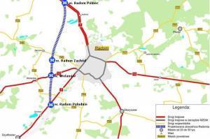 Zachodnia obwodnica Radomia w ciągu drogi ekspresowej S7