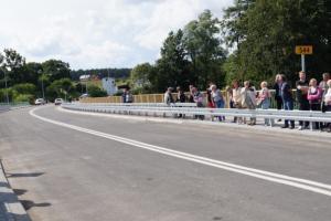 DW544: Obwodnica Lidzbarka i most służą kierowcom