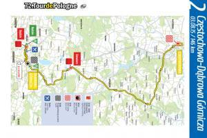 Śląskie: Utrudnienia na krajówkach w czasie Tour De Pologne