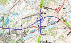 Droga ekspresowa S7 - obwodnica Ostródy i węzeł Ostróda Południe