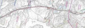 Mapa drogi ekspresowej S7 Waplewo - Witramowo
