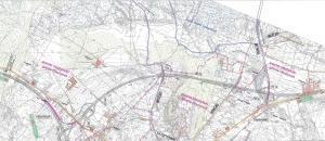 Mapa Obwodnicy Olsztynka w ciągu drogi ekspresowej S51