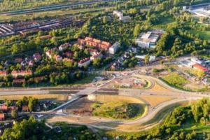 DTŚ w Gliwicach: Otwarcie ulicy Królewskiej Tamy