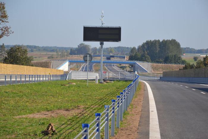 Via Baltica: W realizacji nowe odcinki S61 na północ od Łomży