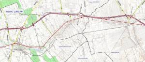 Mapa drogi ekspresowej S19 Niedrzwica Duża - Wilkołaz