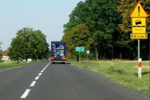 Łódzkie: Prace na DW473 Uniejów - autostrada A2