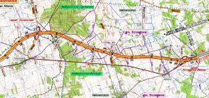 Przebieg drogi ekspresowej S7 Żurominek - Strzegowo