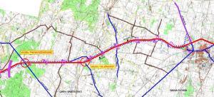 Mapa drogi ekspresowej S7 Pieńki - Płońsk