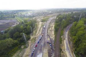 Objazdy dla wysokich na autostradzie A4 w Krakowie