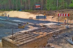 Lubuskie: Zapora czołgowa na drodze krajowej nr 24